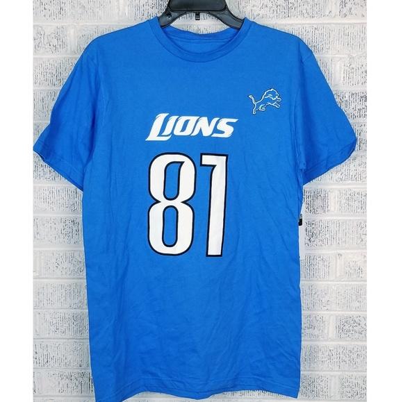 detroit lions 81 jersey
